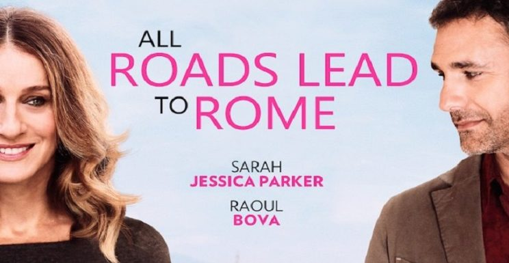 "Sarah Jessica Parker incontra Maison Signore in ""All roads lead to Rome"""